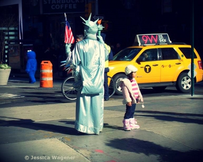 New York, Times Square.