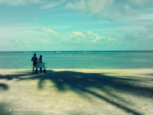 Bahia, Tinharé, vierter Strand.