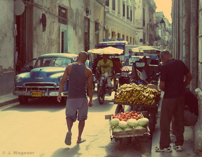 Kuba, Havanna Vieja.