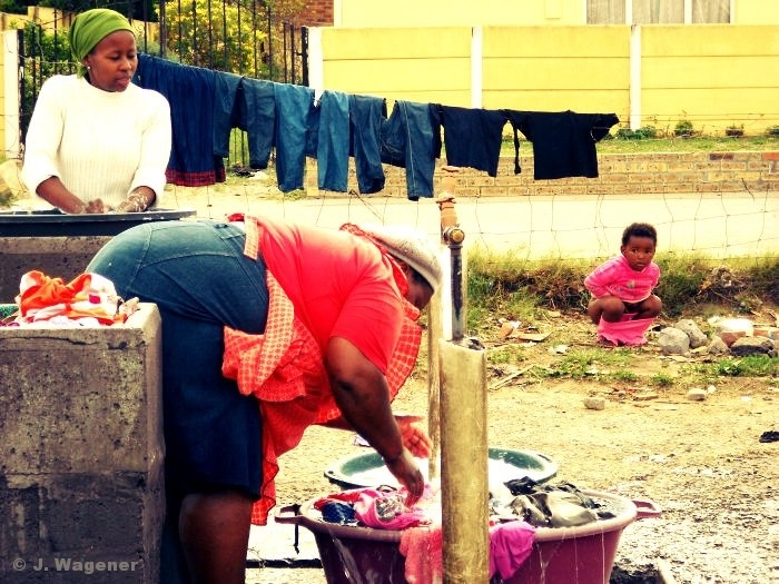 Capetown, Langa.